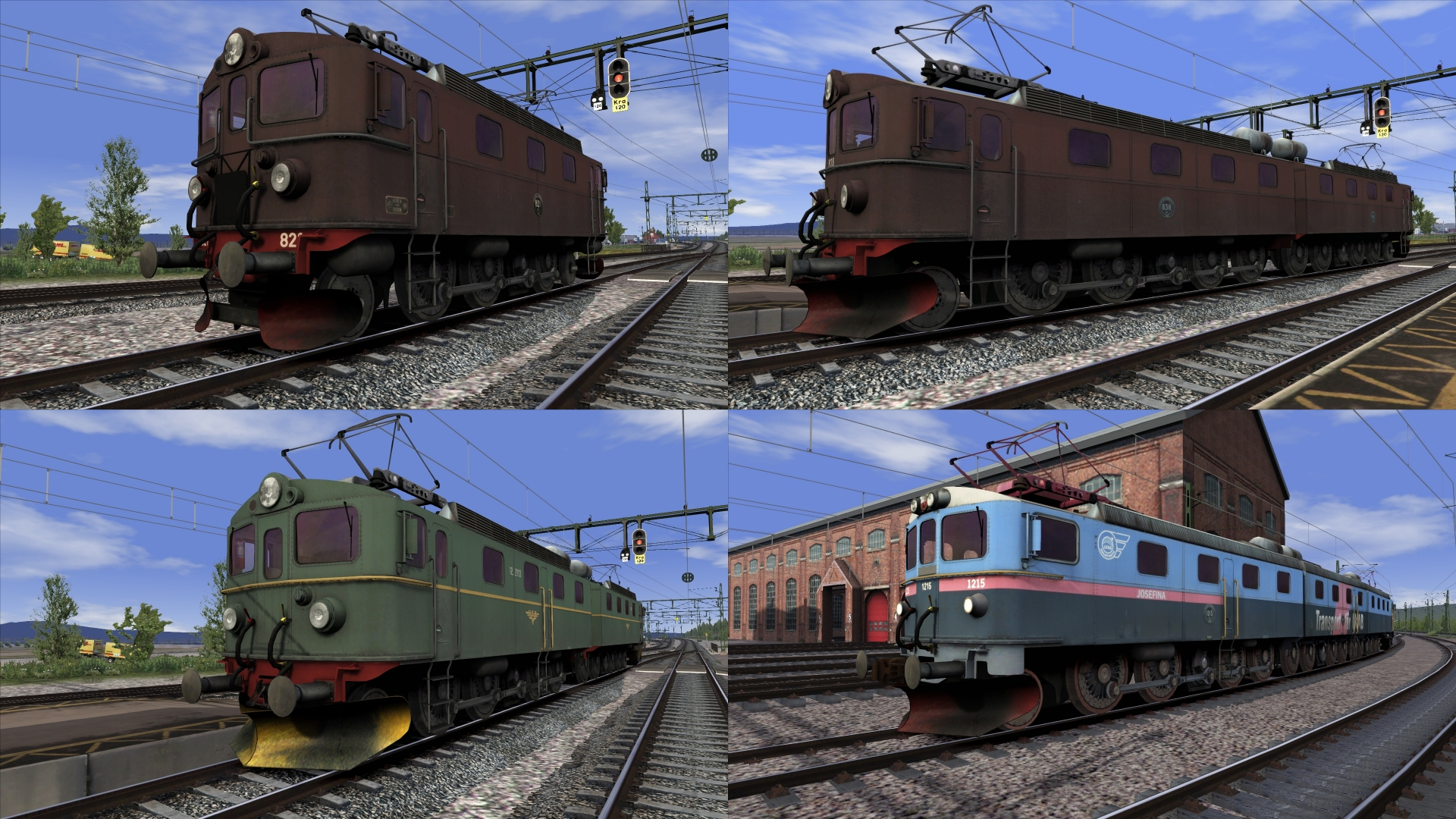 Swedish And Norwegian Locos Litt Da Dm Dm3 And Nsb El12