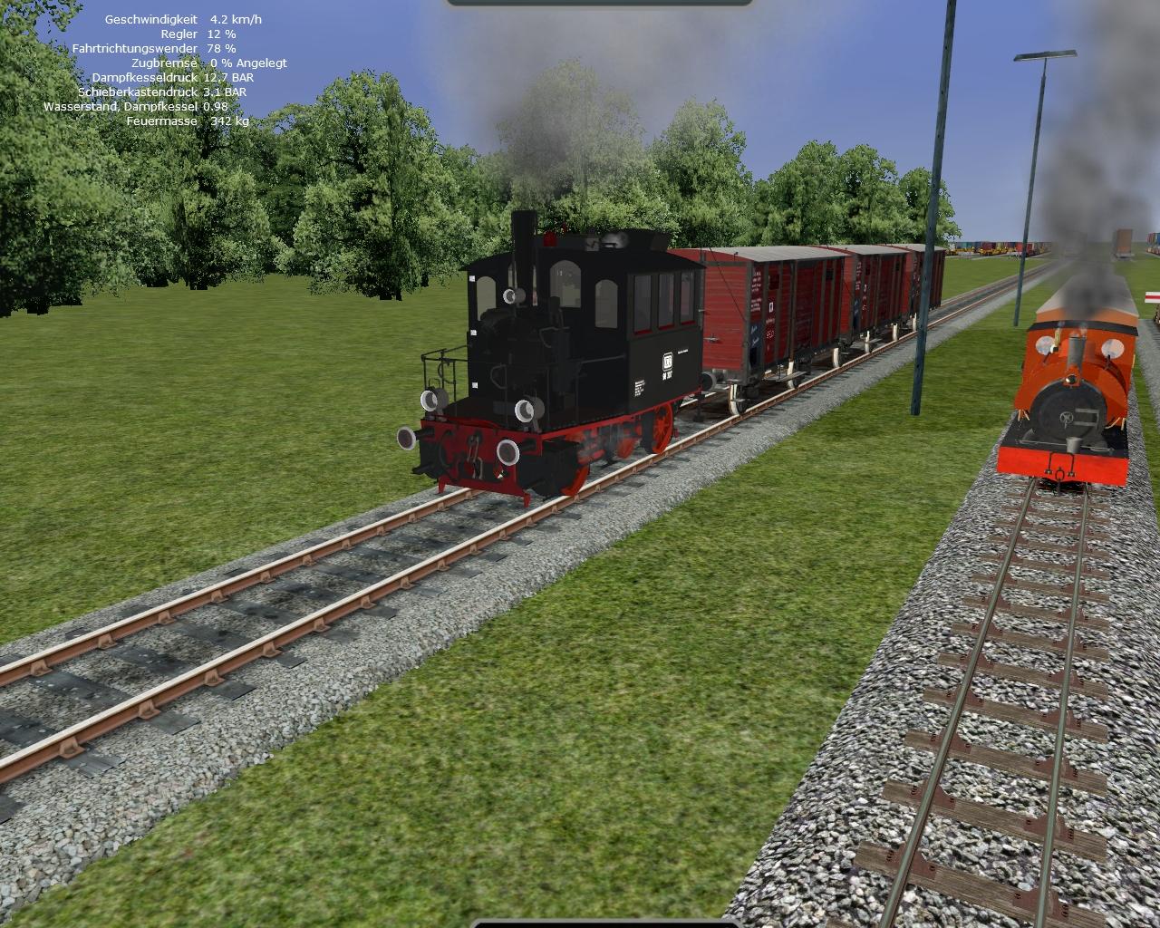 Rail Simulator Models by newS