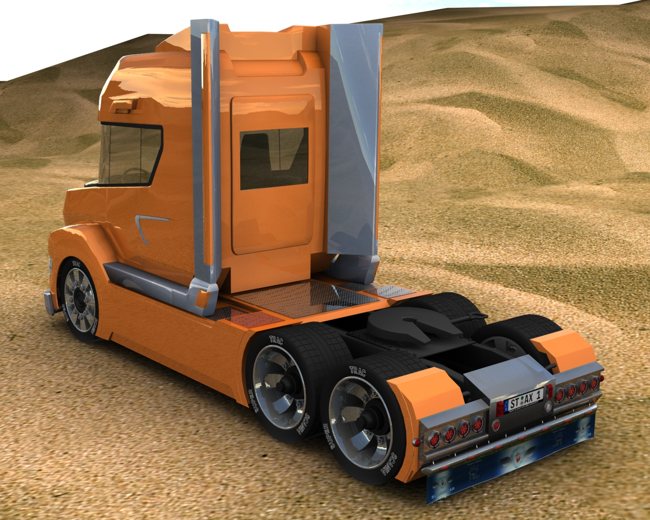 Scania concept stax picture